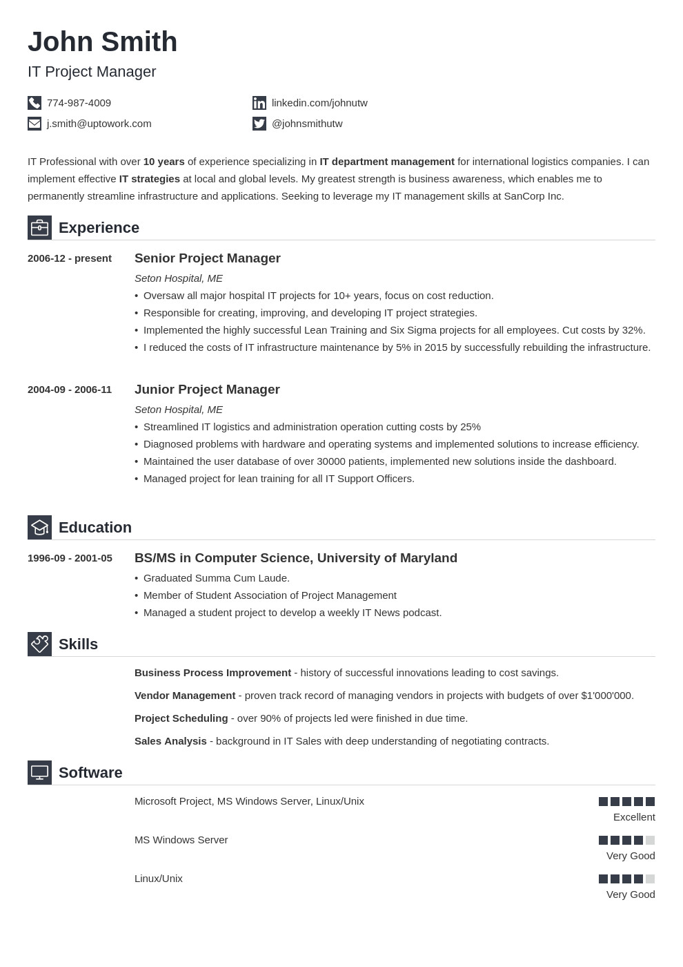 Textedit Resume Template Write A Winning Resume the Best Resume Builders & Apps 2018