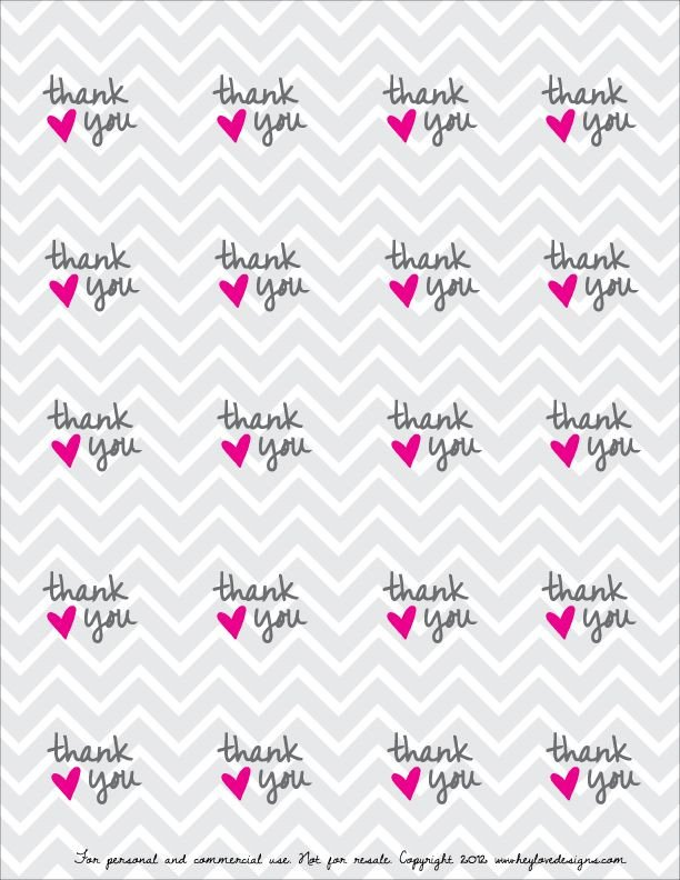 Thank You Printable Tags Free Printable Thank You Favor Tags Grad Ideas