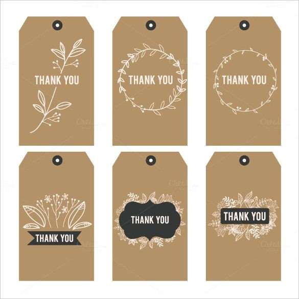 Thank You Printable Tags Free Printable Thank You Stickers