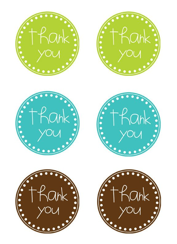 Thank You Printable Tags Simply This and that April 2012