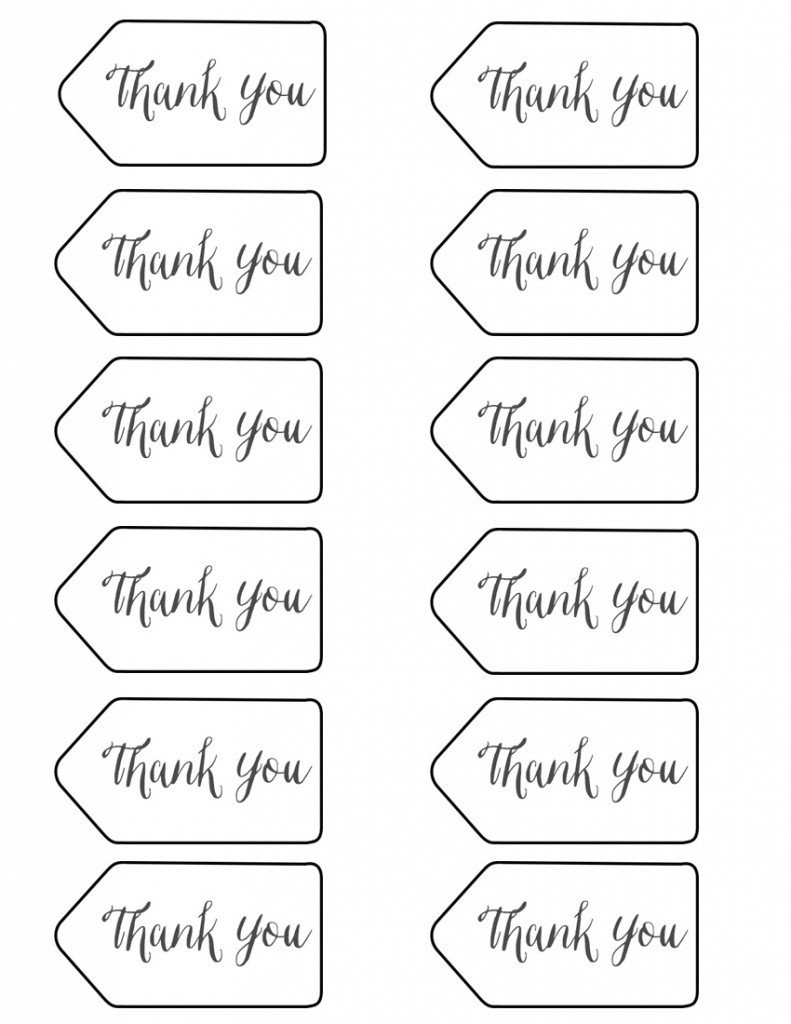 Thank You Printable Tags Styled X3 Branch & Twig Pencils Stacy Risenmay