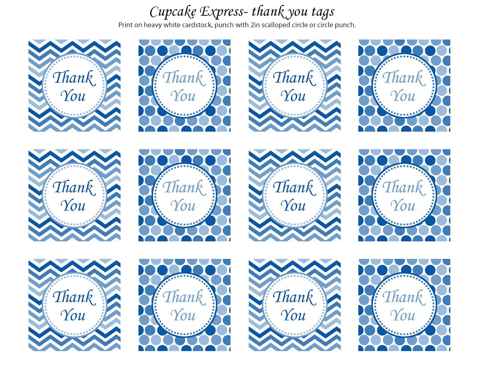 Thank You Printable Tags Thanks so Much to All My Fabulous Fans