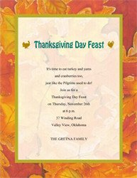 Thanksgiving Invitation Templates Free Word Free Thanksgiving Cards & Invitations Templates Clip Art
