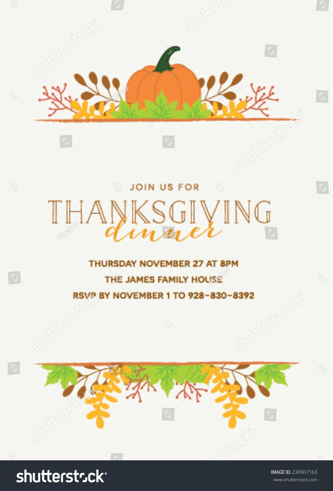 Thanksgiving Invitation Templates Free Word Thanksgiving Invitation Templates Word