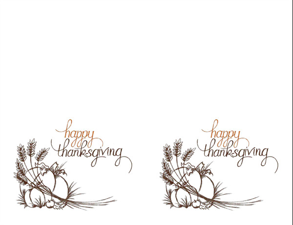 Thanksgiving Invitation Templates Free Word Thanksgiving Invitations 2 Per Page for Avery 3268