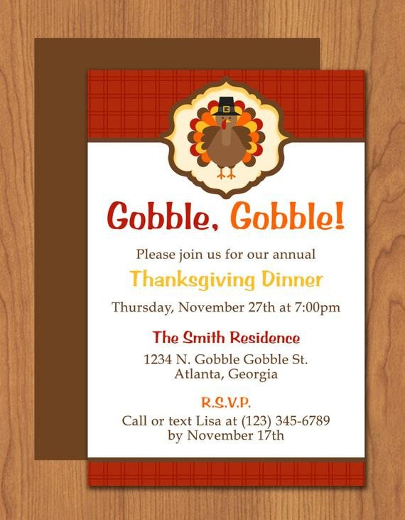 Thanksgiving Invitation Templates Free Word Thanksgiving Turkey Invitation Editable Template Microsoft