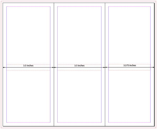 Three Fold Brochure Template Premium Member Benefit Free Tri Fold Brochure Templates