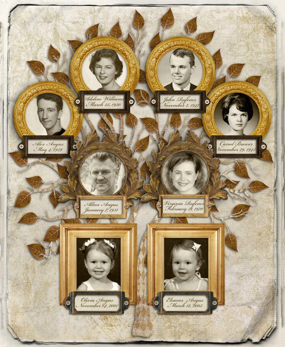 Three Generation Family Tree 3 Generation Family Tree Template – 10 Free Sample