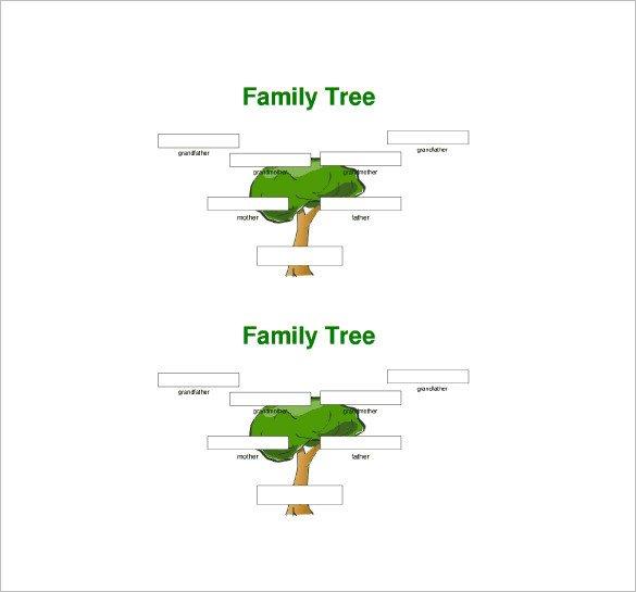 Three Generation Family Tree Three Generation Family Tree Template – 10 Free Word