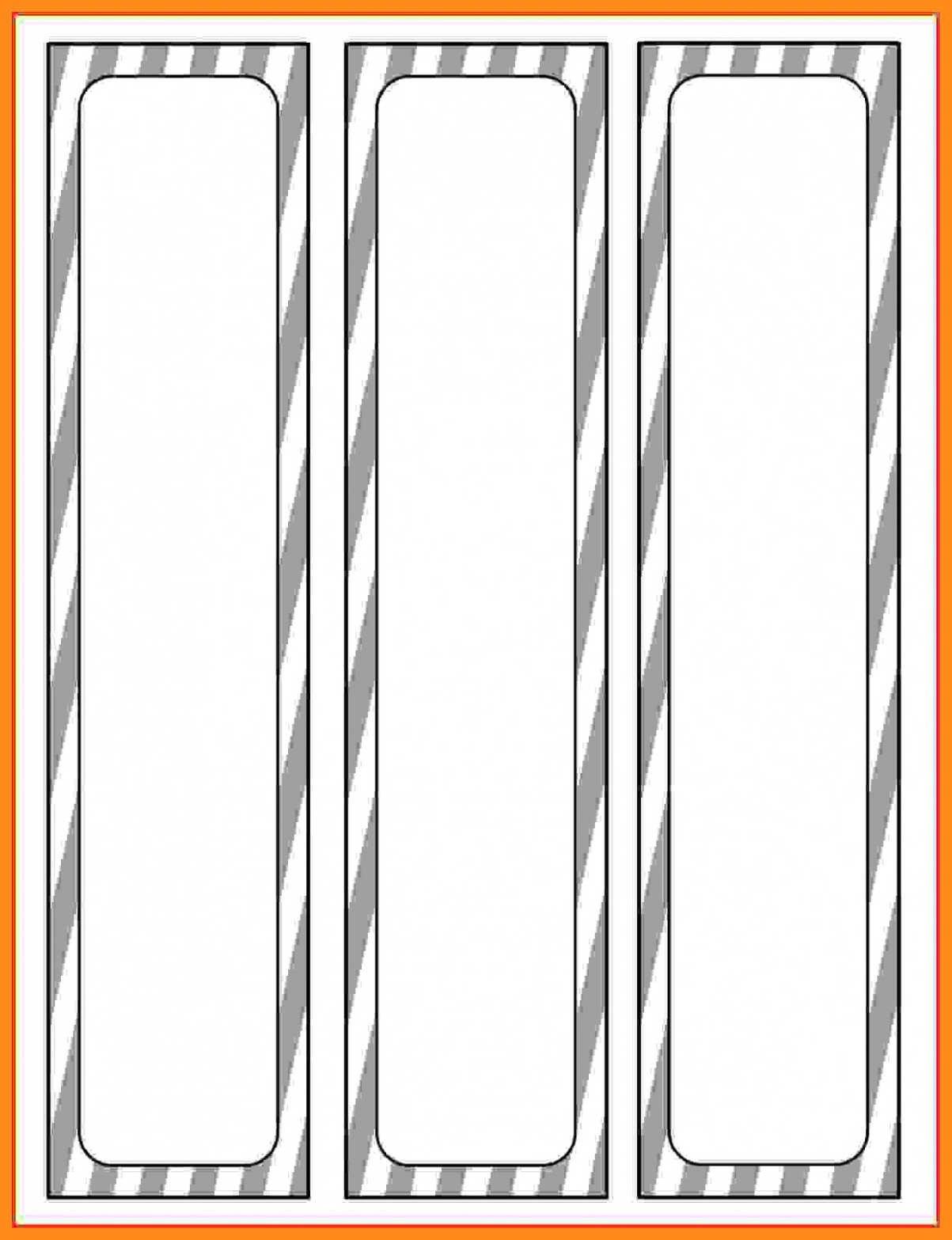 Three Ring Binder Spine Template 12 13 Microsoft Binder Spine Templates