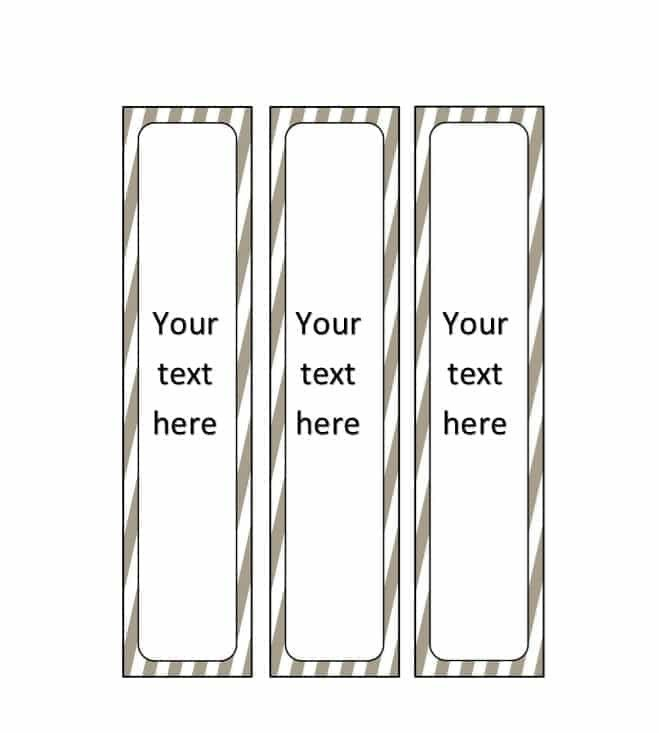 Three Ring Binder Spine Template 40 Binder Spine Label Templates In Word format Template