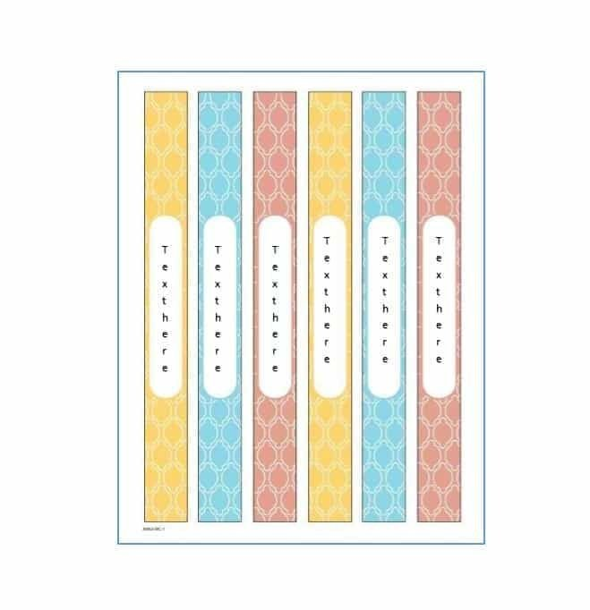 Three Ring Binder Spine Template Best 25 Binder Templates Ideas On Pinterest