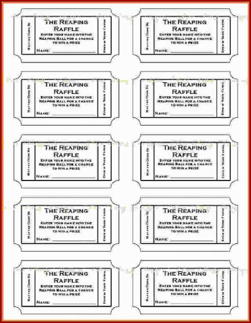 Ticket Template Google Docs Free Printable Ticket Template Word 5202