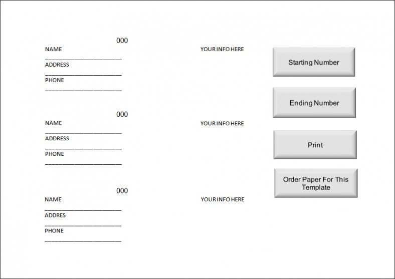 Ticket Template Google Docs Raffle Ticket Templates Word Templates Docs