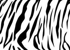 Tiger Stripe Stencil Printable Camo Stencil