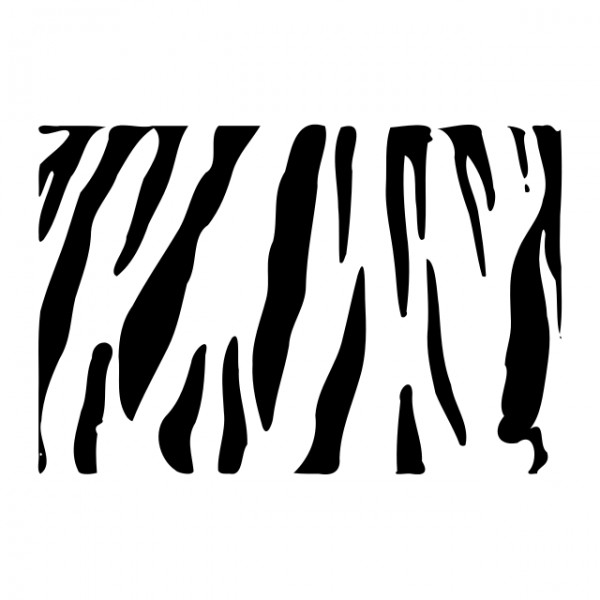 Tiger Stripe Stencil Printable Tiger Stripe Stencil