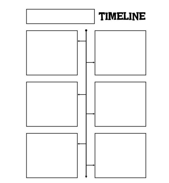 Timeline Template for Kids 33 Blank Timeline Templates – Free and Premium Psd Word