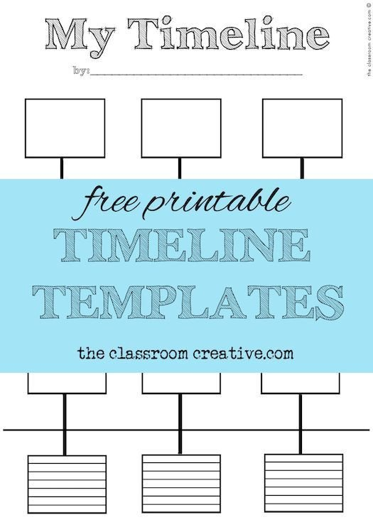 Timeline Template for Kids Best 25 Timeline Project Ideas On Pinterest