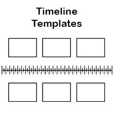 Timeline Template for Kids Free Blank History Timeline Templates for Kids and Students