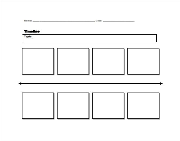 Timeline Template for Kids Sample Timeline for Student 7 Documents In Pdf