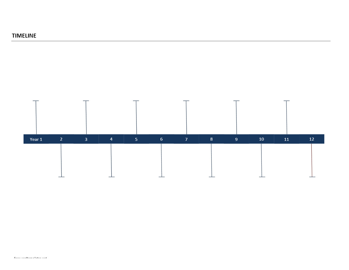 Timeline Template Microsoft Word Chart