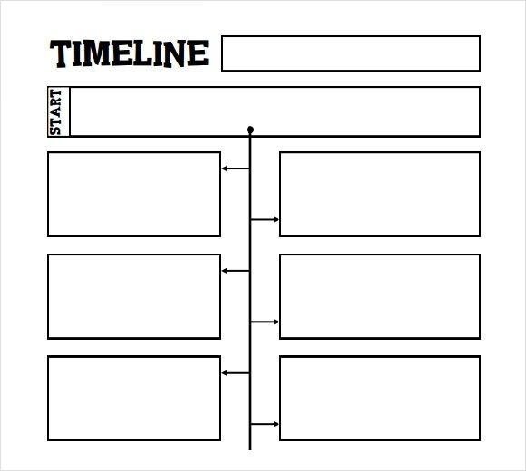 Timeline Templates for Kids 6 Sample Timelines for Kids Pdf Word