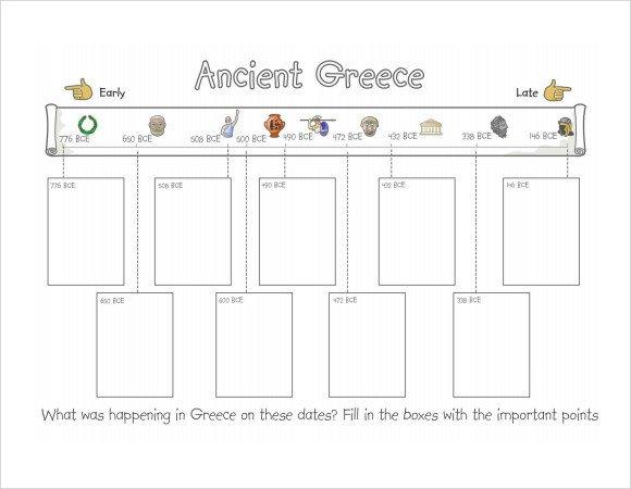 Timeline Templates for Kids Sample Timeline for Student 7 Documents In Pdf