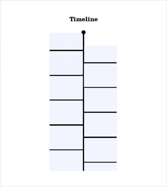 Timeline Templates for Kids Timeline Templates for Student 8 Free Samples