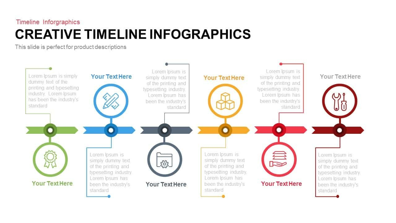 Timeline Templates for Powerpoint Creative Infographics Timeline Powerpoint Template