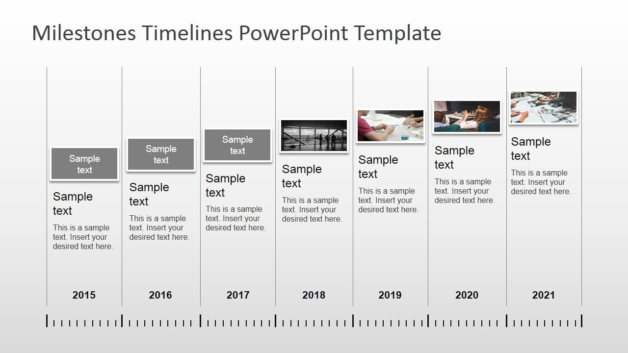 Timeline Templates for Powerpoint Milestones Timeline Powerpoint Template Slidemodel