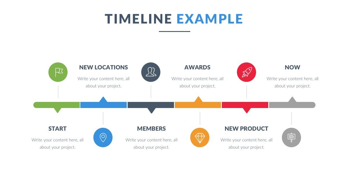 Timeline Templates for Powerpoint Powerpoint Timeline Template