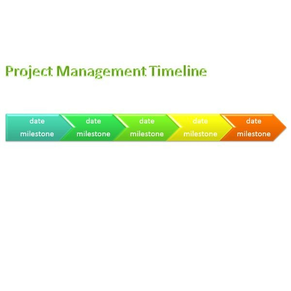 Timeline Templates for Word Sample Project Management Timeline Templates for Microsoft