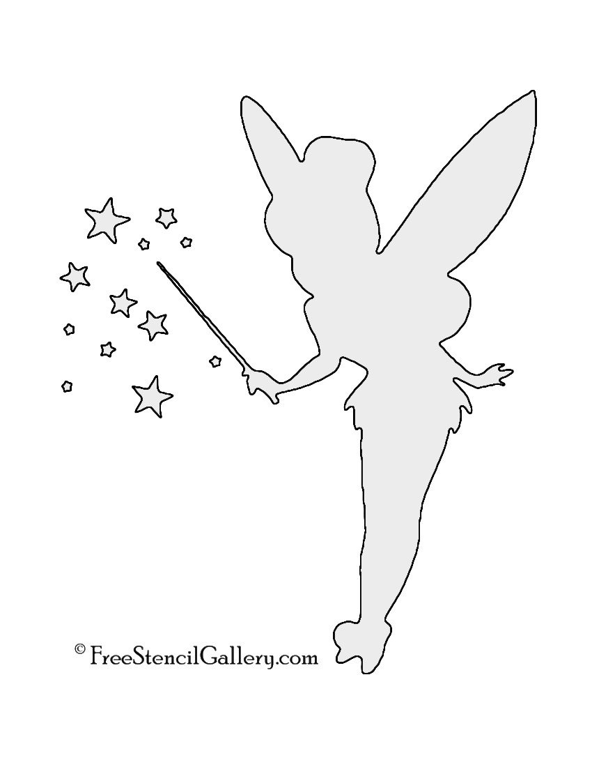 Tinkerbell Pumpkin Carving Patterns Disney
