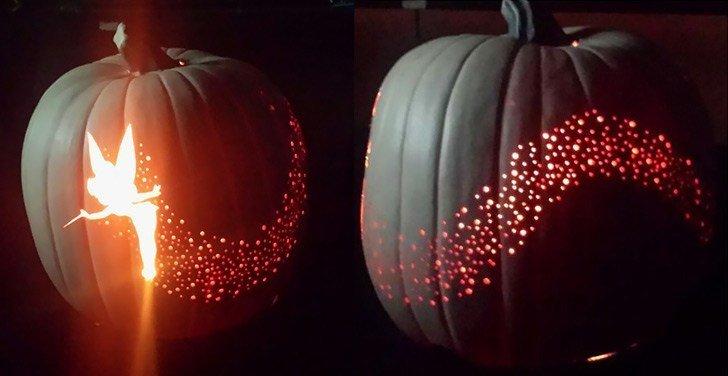 Tinkerbell Pumpkin Carving Patterns Disney Pumpkin Carving Ideas