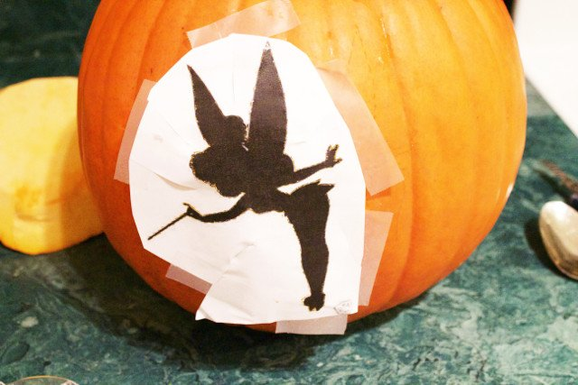 Tinkerbell Pumpkin Carving Patterns Tinkerbell Fairy Dust Jack O Lantern Carving as Life Skill