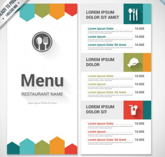 To Go Menu Template Menu Templates Word Find Word Templates