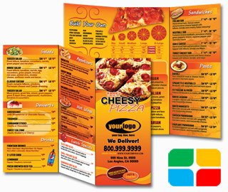To Go Menu Template Pizza to Go Menus Design and Print Templates 8 5 X 11