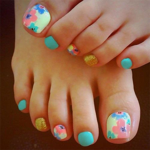 Toe Nail Designs Ideas 15 Summer toe Nail Art Designs & Ideas 2016