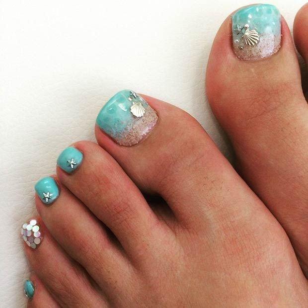 Toe Nail Designs Ideas 20 Adorable Easy toe Nail Designs 2019 Simple toenail