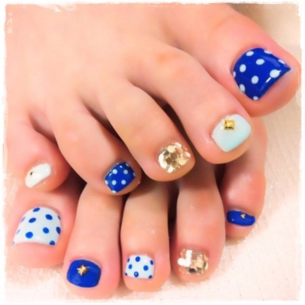 Toe Nail Designs Ideas 45 Childishly Easy toe Nail Designs 2015