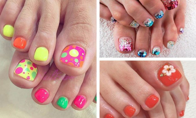 Toe Nail Designs Ideas 51 Adorable toe Nail Designs for This Summer