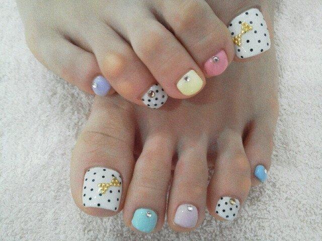 Toe Nail Designs Ideas Cool toe Nail Art Designs