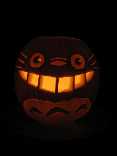 Totoro Pumpkin Pattern Amazing Studio Ghibli Pumpkin Pattern