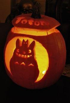 Totoro Pumpkin Pattern Cute Halloween totoro Clipart Collection