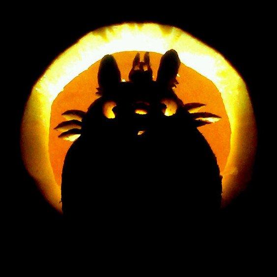Totoro Pumpkin Pattern totoro Pumpkin by Flyingpanda88 On Deviantart