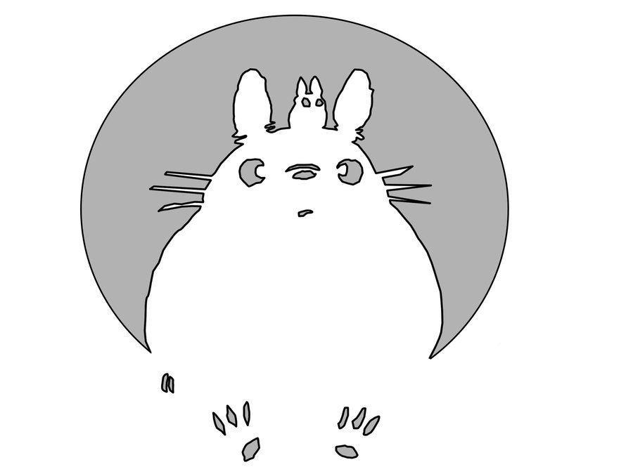 Totoro Pumpkin Pattern totoro Pumpkin by thegoatking On Deviantart …