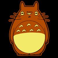 Totoro Pumpkin Pattern totoro Stoneykins Pumpkin Carving Patterns and Stencils