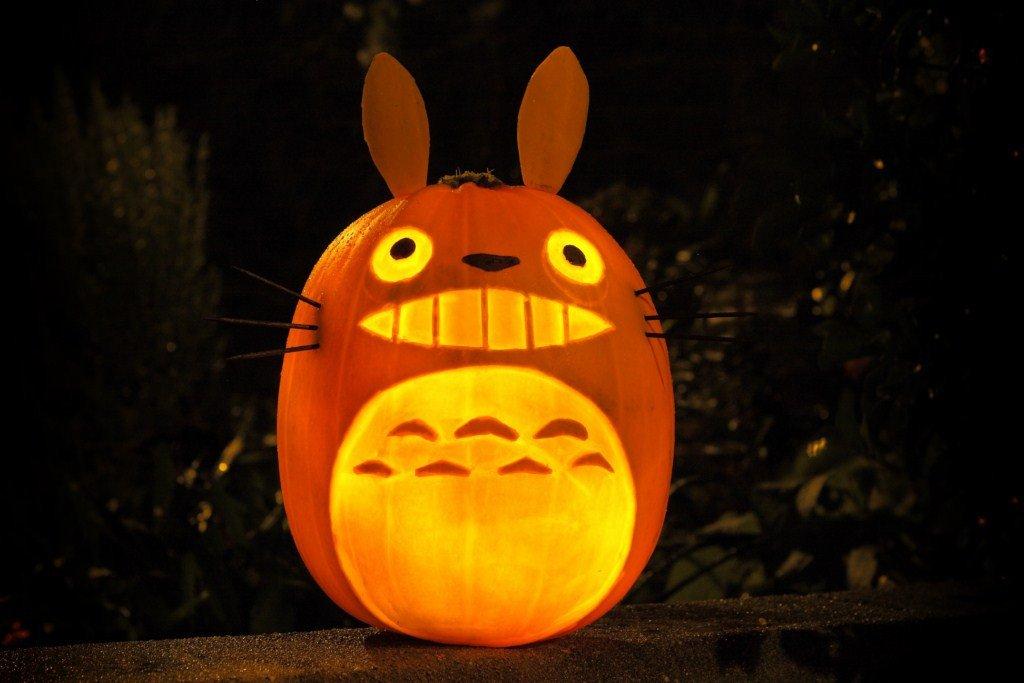 Totoro Pumpkin Stencils Amazing Studio Ghibli Pumpkin Pattern