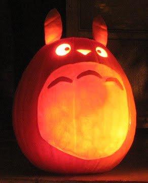 Totoro Pumpkin Stencils Cute totoro Pumpkin Anime Winix