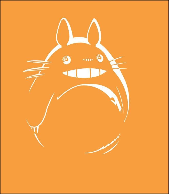 Totoro Pumpkin Stencils Pin by solveig Irgens On Art and Illustrations